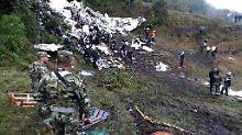 Ursache von Chapecoense-Unglück: Leerer Tank führte zum Flugzeugabsturz