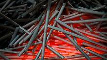 Die USA wollen Strafzölle auf Stahlprodukte verhängen.