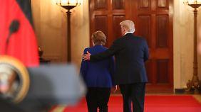 USA nicht mehr als Schutzmacht: Merkel betont das Ende der Nachkriegsordnung