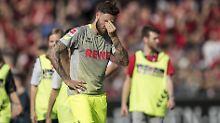Das war's: Marco Höger musst mit dem 1. FC Köln runter in die 2. Liga.