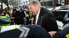 George Pell wird mehrfach sexueller Missbrauch vorgeworfen.