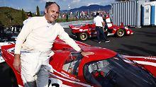 Im Herzen immer noch Rennfahrer: Gerhard Berger.