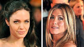 Promi-News des Tages: Pitts Neue treibt Jolie und Aniston auf die Palme