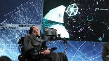 Neue Urknall-Theorie: Letzte Arbeit von Hawking veröffentlicht