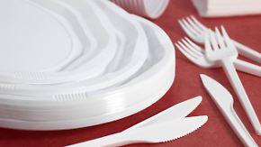Strohhalm, Becher und Besteck: Brüssel erwägt Verbot von Einweggeschirr aus Plastik
