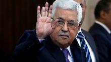 """Goebbels """"zur Ehre gereicht"""": Abbas' Rede löst weltweit Empörung aus"""
