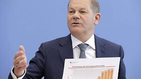 Weniger Investitionen in Infrastruktur: Scholz sorgt mit Haushaltsentwurf für Zündstoff