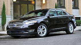 Selbst die Business-Limousine Taurus will Ford streichen.
