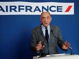 300 Millionen Euro Streikkosten: Air France-Chef Janaillac tritt ab