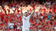 """Abschied bei Arsenal London: """"Danke Per"""" - Mertesacker zu Tränen gerührt"""