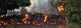 Ein aktiver Vulkan als Nachbar: Die vernichtende Naturgewalt von Hawaii