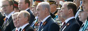 Große Militärparade in Moskau: Russland feiert den Sieg über Nazi-Deutschland