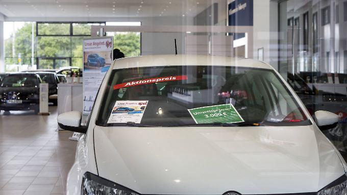 Die Zeit der Rabatt-Aktionen auf Diesel-Autos neigt laut einer Studie sich dem Ende zu.