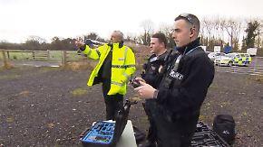 Hilfe aus der Luft: Britische Polizei schult Drohnenpiloten