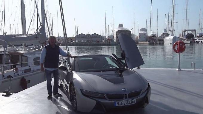 Ultraleicht und übersichtlich: BMW i8 stromert Oben ohne