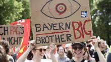 Scharfe Kritik an Herrmann: Streit um Bayerns Polizeigesetz kocht hoch