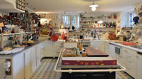 In der alten Kochküche im Gutshaus möchte ich mal so richtig herumstöbern!