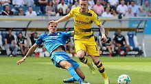 Bayer-Torspektakel reicht nicht: BVB zittert sich in die CL, Hoffenheim jubelt