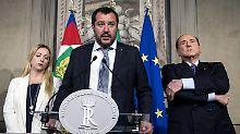 Grundsatzeinigung in Italien: Rechte und Populisten streben in Regierung