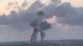 "Proteste gegen US-Botschaftsverlegung: Israel bombardiert ""Terrortunnel"" in Gaza"