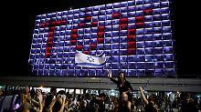 """Danke, Bibi, danke!"": Israelische Politik krallt sich Netta"