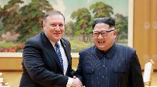 Für  Verzicht auf Atomwaffen: USA wollen Kim Sicherheiten bieten