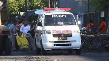 Anschlagsserie in Indonesien: Attentäter zünden Bombe in Polizeiwache