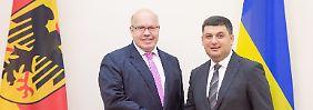 Streit um Ostsee-Pipeline: Altmaier will bei Nord Stream 2 vermitteln