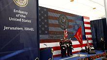 Video-Grußwort von Donald Trump: USA eröffnen Botschaft in Jerusalem