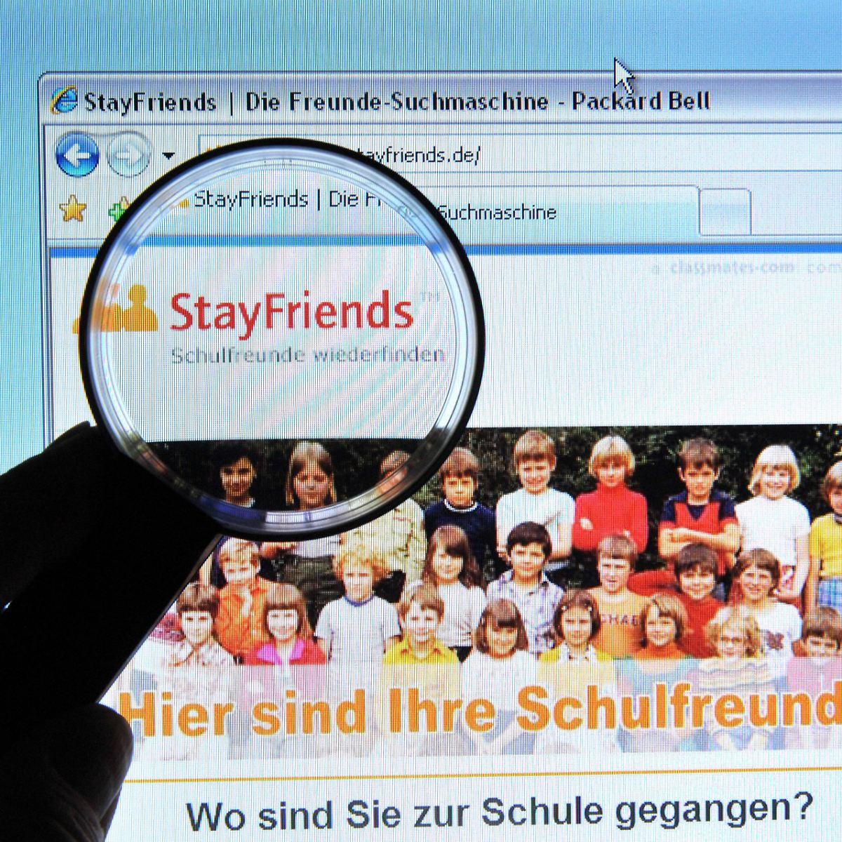 Und vergessen passwort email stayfriends Account bei