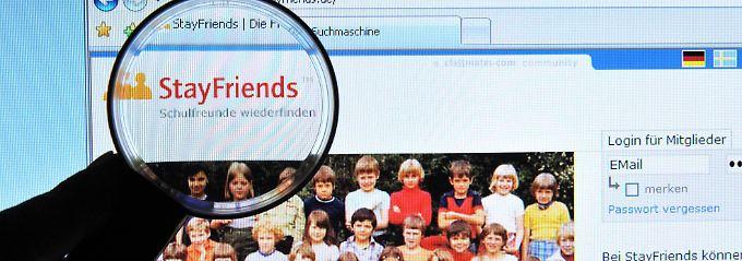 Voreinstellung bei Stayfriends verstoßen gegen das Bundesdatenschutzgesetz.