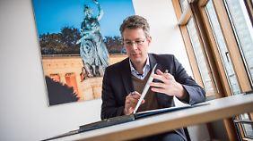 """""""Starker Analytiker"""" und """"brillanter Stratege"""": Markus Blume."""