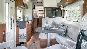 Premium verspricht Hymer auch für den B-Class Modern Comfort 580.