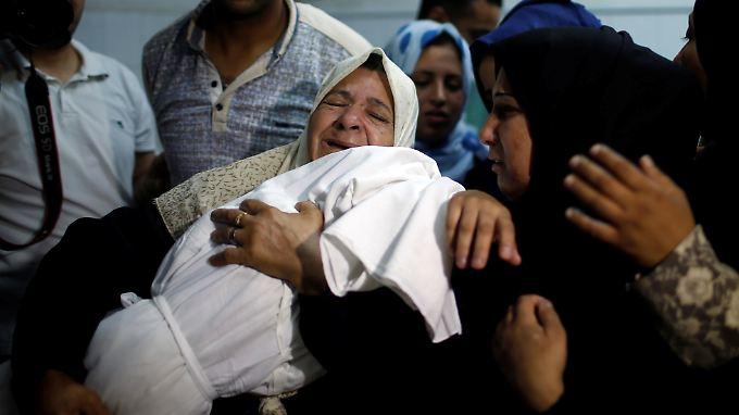 Angehörige trauern um das acht Monate alte Mädchen.