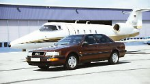 Mit dem Audi V8 wollten die Ingolstädter 1988 Mercedes und BMW den Rang ablaufen.