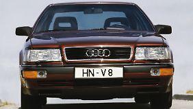 Äußerlich war der Audi V8 kein Aufreger.