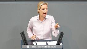Alice Weidel im Bundestag.