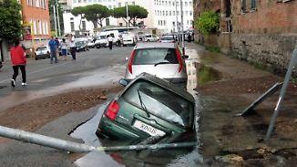 Ewige Stadt der Schlaglöcher: Roms Straßen werden zur tödlichen Gefahr