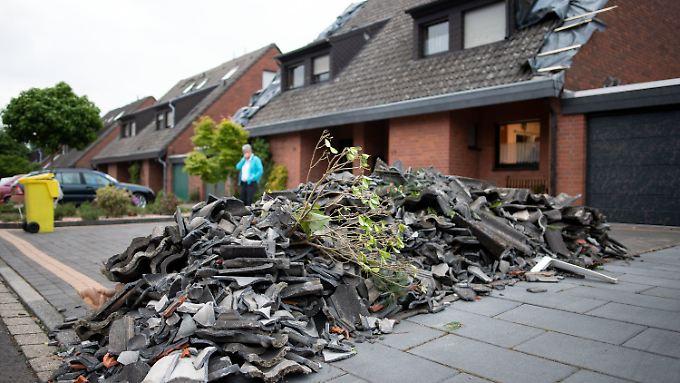 50 Häuser hat es rund um Viersen erwischt.