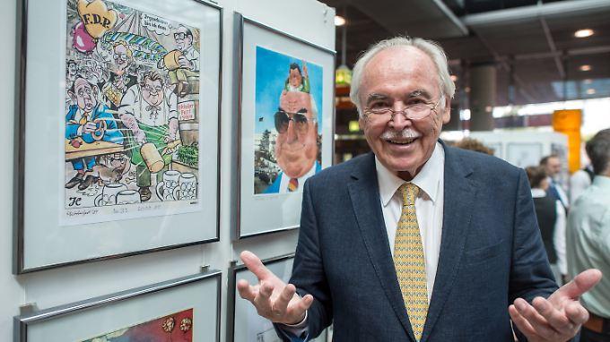 """Die """"Süddeutsche Zeitung"""" hat sich von ihrem langjährigen Karikaturisten Dieter Hanitzsch getrennt."""