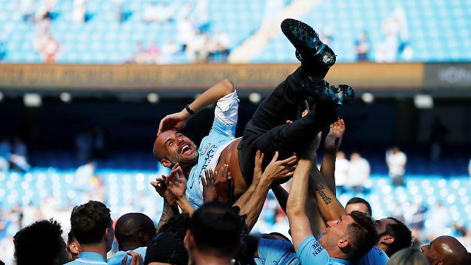 Pep Guardiola wird in Manchester sehr geschätzt.
