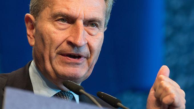 Oettinger steht in der Kritik.