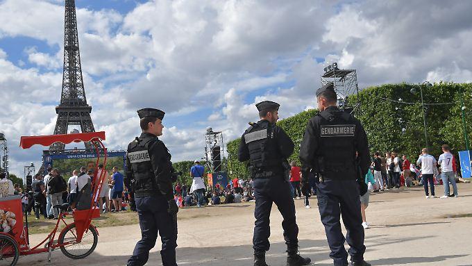 Frankreichs Sicherheitskräfte konnten einen Anschlagsplan stoppen.