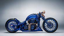 Gut ein Jahr hat der Umbau der Harley-Davidson Softail Slim S gedauert.