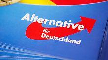 Parteiinterner Krach in Sachsen: AfD will gegen eigene Leute vorgehen