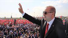 """""""Unschuldige Palästinenser"""": Erdogan wirft Israel Nazi-Methoden vor"""
