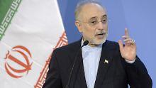 Ali Akbar Salehi ist Chef der iranischen Atomenergiebehörde.