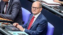 Lehnt eine Erhöhung des Wehretats ab: Finanzminister Olaf Scholz