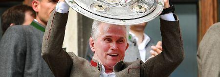 """Zum letzten Mal """"Jupp Jupp Jupp"""": FC Bayern findet Trost in der Singleparty"""