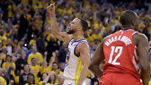 NBA-Titelverteidiger legt vor: Warriors zerlegen Rockets, Cavs sind zurück